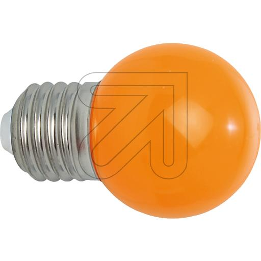EGB LED Tropfenlampe IP54 E27 1W orange 540220