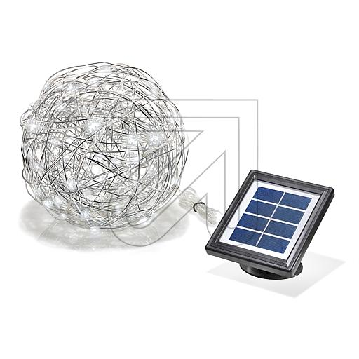 esotec GmbH LED Solar Alu-Wireball kw 102112 623595
