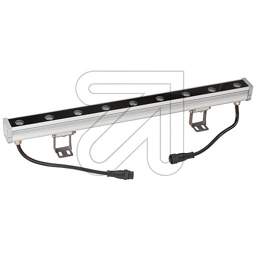 EVN RGB-LED-Wallwasher silber IP65 9W P65240999 627595