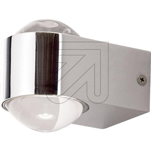 ORION Licht LED-Wandleuchte IP44 chrom 3000K 2x4W WA 2-13 Chro 635255