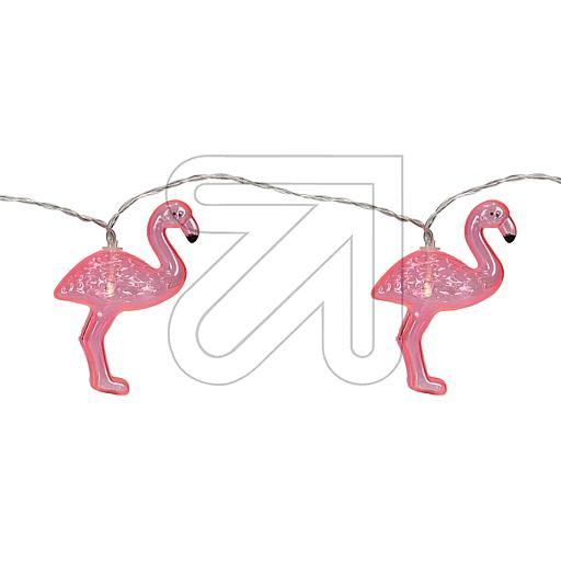 Konstsmide LED Dekolichterkette Flamingos 3132-343 831025