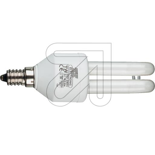TS-Electronic Energiesparlampe 7W / E14 38-11407 Energiesparlamp 870780L