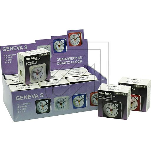 Technotrade Quarzweckerdisplay Geneva S Technoline 325075