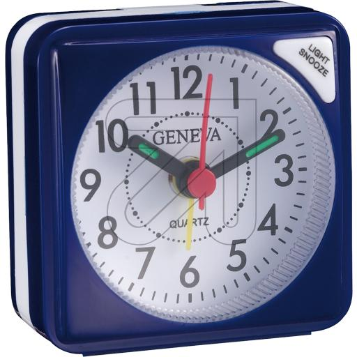 Technotrade Quarzwecker Geneva S blau Technoline 325095