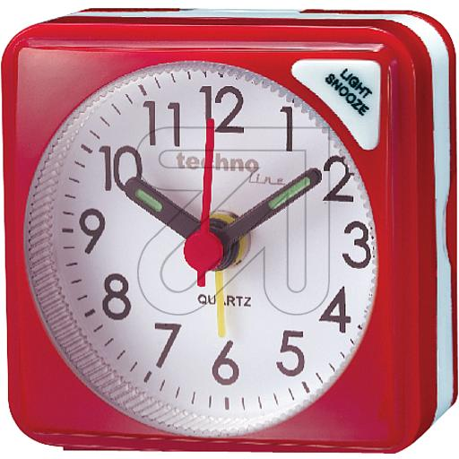 Technotrade Quarzwecker Geneva S rot Technoline 325105