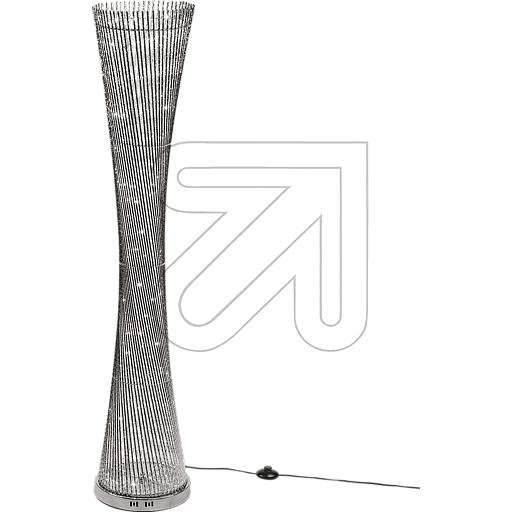 LUXA LED Vase silberfarben 100 ww LED 45484 835845