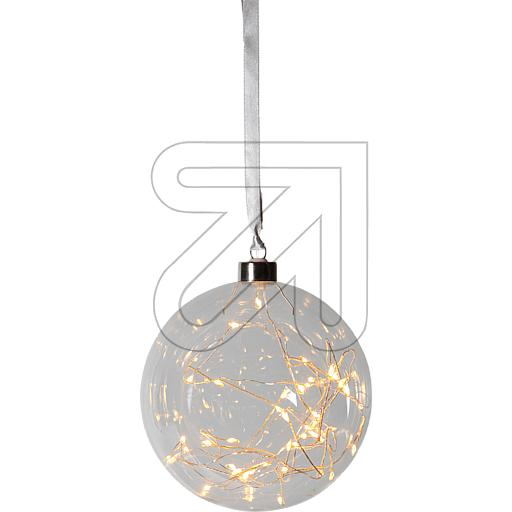 Best Season LED-Glaskugel Glow 15cm 457-75 842405