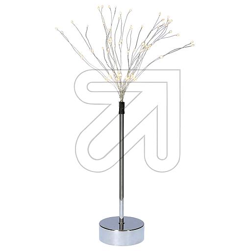 Best Season 3D-LED-Standstern Firework chromfarben CC105-54 842545