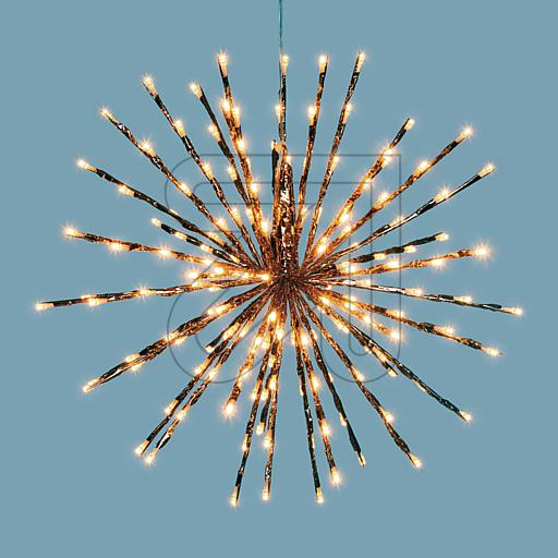LUXA Stern Twig Ball 160 bernsteinf. LED 41172 848835