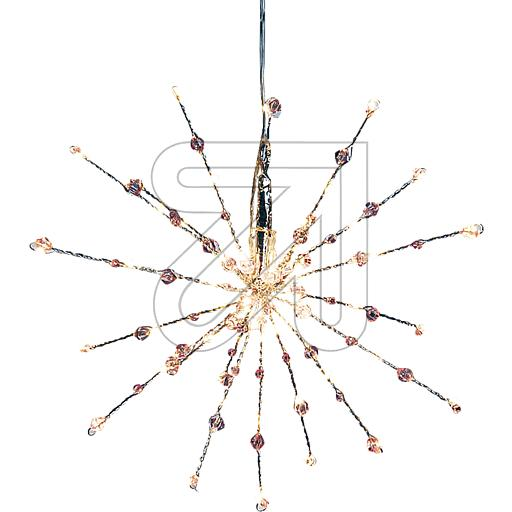 LUXA Stern Twig Ball 60 ww LED rosa Kugeln 42537 848870