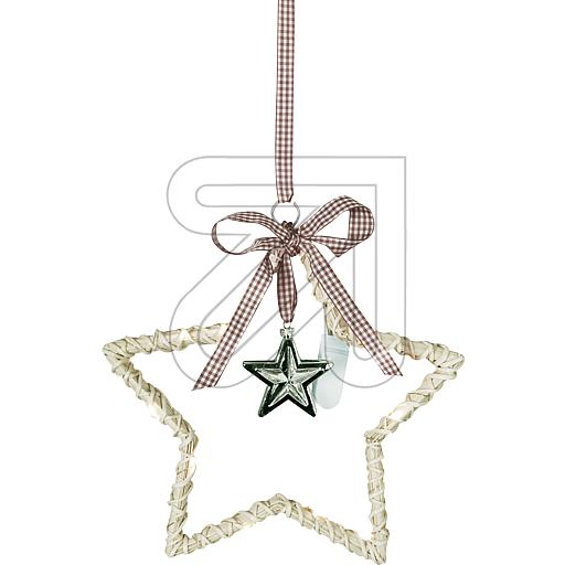 Best Season LED-Dekostern Willow Star creme 700-31 862825