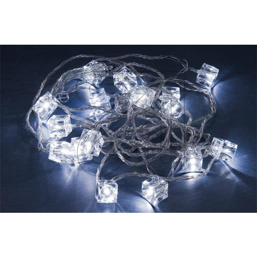 Konstsmide LED Lichterkette transpar. 1403-203 864030
