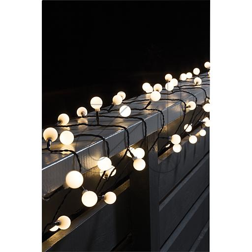 Konstsmide LED-Globelichterkette 80 flg. warmw. 3696-107 865645